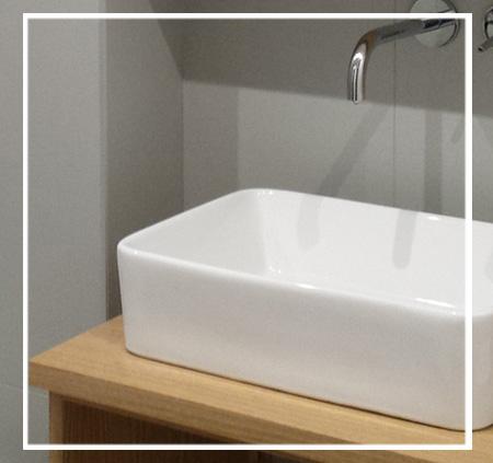 Idée salle de bain - L'essence bois