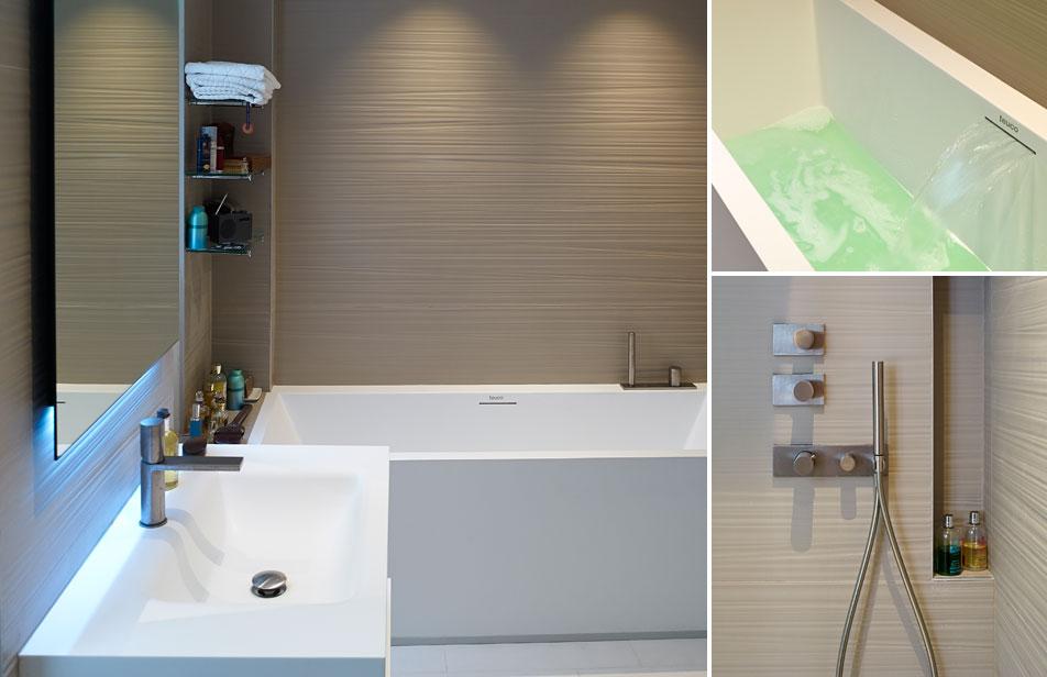 Minimalisme -Salle de bains
