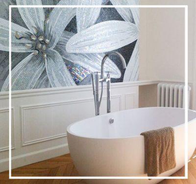 Création d'une salle de bain au cœur d'une chambre