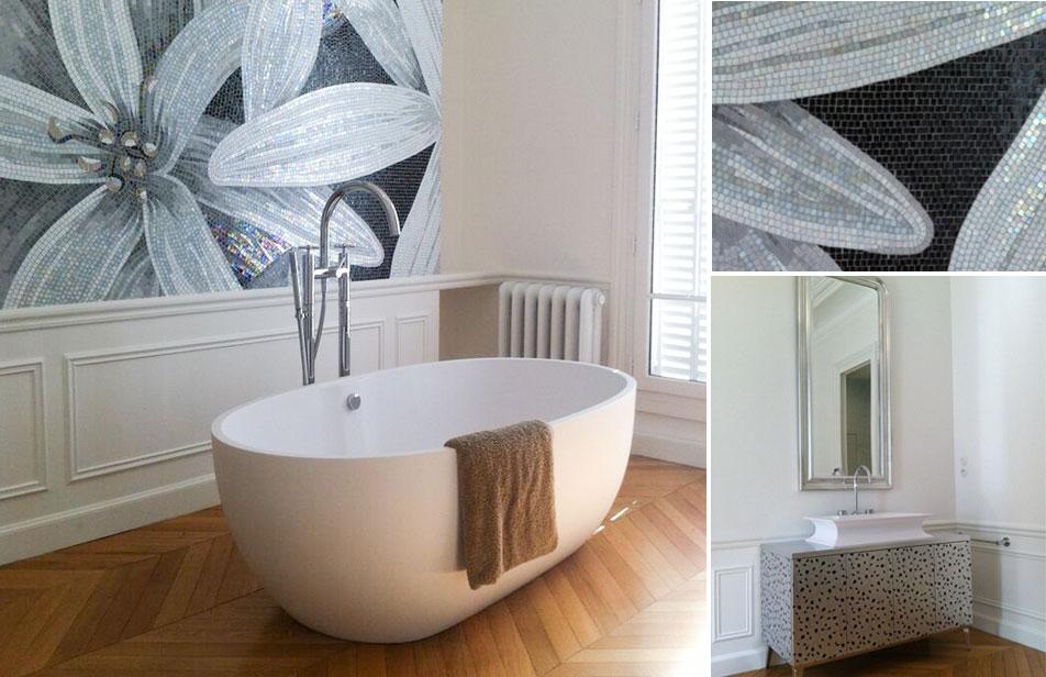 Haussmannien Création Dune Salle De Bain Dans Une Chambre Eau - Une salle de bain com