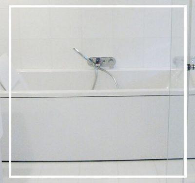 Idée salle de bain – Blanc élégant